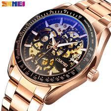 <b>SKMEI Automatic</b> Watches <b>Men</b> Hollow <b>Mechanical</b> Wristwatch ...