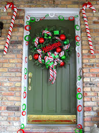 Plastic Candy Cane Decorations 100 Best Christmas Door Decorations for 100 🎄 Candy canes 60