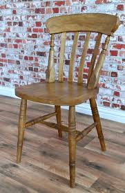 slat back chairs. Farmhouse Dining Chairs Beech Rustic Slat Back Including Carvers