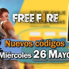Listado de nuevos códigos de free fire. Free Fire Codigos Para Hoy Miercoles 26 De Mayo De 2021 Recompensas Gratis Vandal