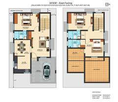 east facing house plans for 60 40 site new vastu north east facing house plan