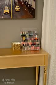 gold painted furnitureDIY Gold Painted Table