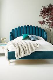 turquoise bedroom furniture. Feather Collection Bed Turquoise Bedroom Furniture ,