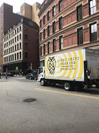 a night shift brewing truck in boston s downtown crossing