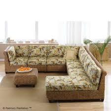 polynesian furniture. Carribean Breeze Sectional 5-Padmas Plantation Polynesian Furniture