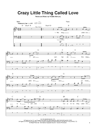 crazy little thing called love sheet music crazy little thing called love sheet music for piano and more