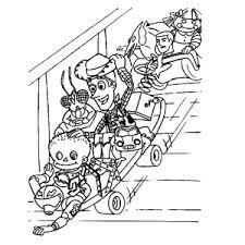 Popular Kleurplaat Toy Story 3 Image Desain Interior Exterior