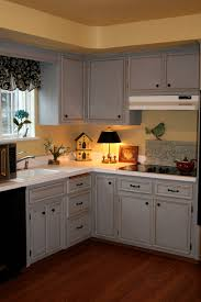 Grey Painted Kitchen Cabinets Annie Sloan Chalk Paint Kitchen Makeover For The Home