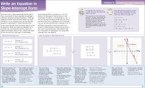 rewrite equation in slope intercept form worksheet