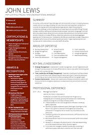 resume project manager info project manager cv examples and template
