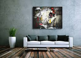 >wall art best colection modern wall art canvas all modern wall art  a multi coloured abstract modern wall art canvas print hang on grey wall green plants on