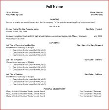 Job Resume Maker Online Job Resume Maker Best Of Student Resume Builder And 16