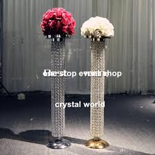baby nursery pleasant wedding decoration gold crystal chandelier table centerpieces for weddings w full