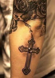 Motivy Tetování Růženec 2jpg Motivy Tetování Vzor Tetování