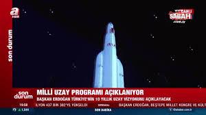 Milli uzay programı tanıtımı | Video videosunu izle