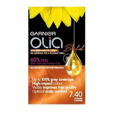 Olia Colour Chart Garnier Olia Bold 740 Intense Copper Permanent Hair Dye