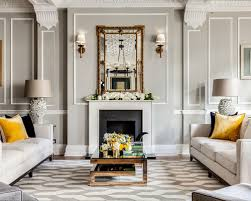 grey walls living room home design photos grey