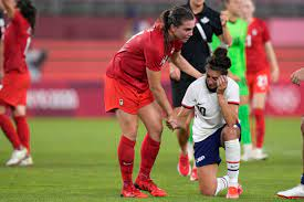 US women's soccer team upset by Canada ...