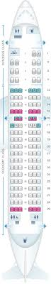 A319 Seating Chart Seat Map Air Canada Airbus A319 100 Seatmaestro