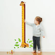 Kids Growth Chart Personalized Growth Chart Decals