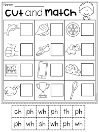 Ch Digraph Worksheets Sh Ksheets Ch Grade Ds Sound S Ch Phonics ...