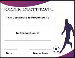 Soccer Certificate Templates For Word Youth Soccer Certificate Templates Award Template Free Thaimail Co
