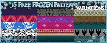 Disney Patterns New Disney Frozen Patterns By Sakuyamon On DeviantArt