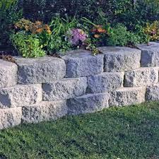 6 in x 16 in concrete garden wall