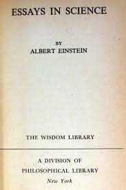 einstein s essays in science st ed gohd books