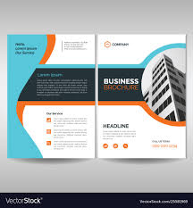 Brochure Templates For It Company Corporate Brochure Cover Layout Template Modern
