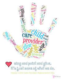 Childcare Quotes Custom Child Care Provider Appreciation Day Printable
