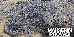 Arafat havadan görüntülendi