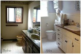 bathroom remodel pictures before and after. Wonderful After Remodeled Bathrooms Before And After Wonderful On Bathroom Mens Bath Diy  Renovation Ideas 19 In Remodel Pictures
