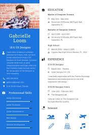 Ux Designer Resume Unique Free UX Designer Resume CV Template In Photoshop PSD Illustrator