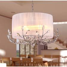 chandeliers chrome drum chandelier warehouse of robin 4 light reviews carina finish shade crystal