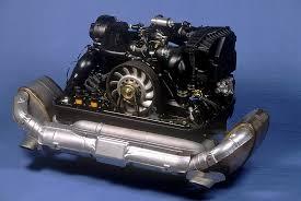 the porsche flat six engine 1989 911 carrera 4 3 6 litre engine