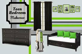 Cool teen boys bedroom makeover Bedroom Design Fluster Buster Bedroom Design Teen Boys xbox Inspired Room Makeover Fluster Buster