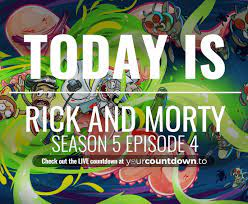 Countdown To Rick and Morty