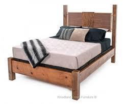 modern rustic bedroom furniture. Contemporary Wooden Bed Modern Reclaimed Wood Rustic Bedroom Furniture B