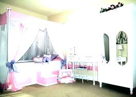 Kids Canopy Beds Child Kid Bed Tent Plans Set Delta Children Girls ...