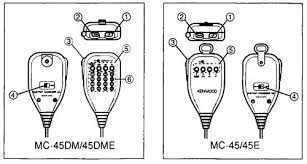 doppler tuning box kenwood microphones item 5 is the pf key item 6 is the dtmf keypad