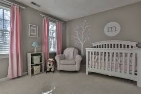 Pink And Grey Bedroom Decor Remodel Gray With Soft Pink And Blue Accents In Girls Rooms