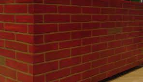 Painting Fake Brick Paneling Faux Brick Panels The Blog On Cheap Faux Stone Panels