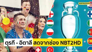 NBT2HD ดูบอลยูโร 2020 ถ่ายทอดสดทุกคู่ เริ่มวันศุกร์ 11 มิ.ย. 64
