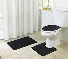 kashi home layla oversized 3piece bathroom rug set b01hp4ai4q