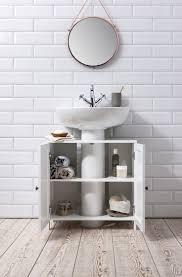 Bathroom Sink Cabinet Undersink in White Stow