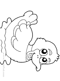 Small Picture Cute Duck Coloring Pages Coloring Home