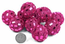 Pink Decorative Balls