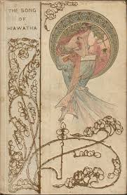best images about artist mucha alphonse alfons maria on the songs of hiawatha cover by alphonse mucha published by henry altemus co