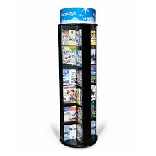 Free Standing Literature Display Cool Rotating Literature Display Stand L Large Spinner DisplayGreat